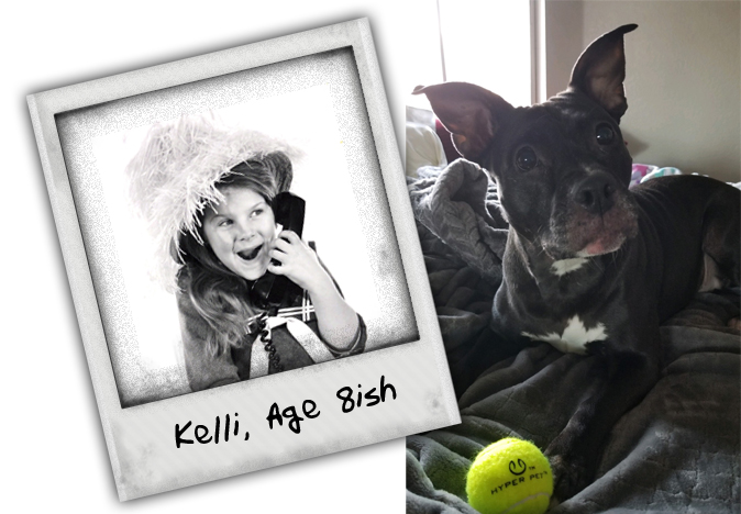 Kelli and her pup